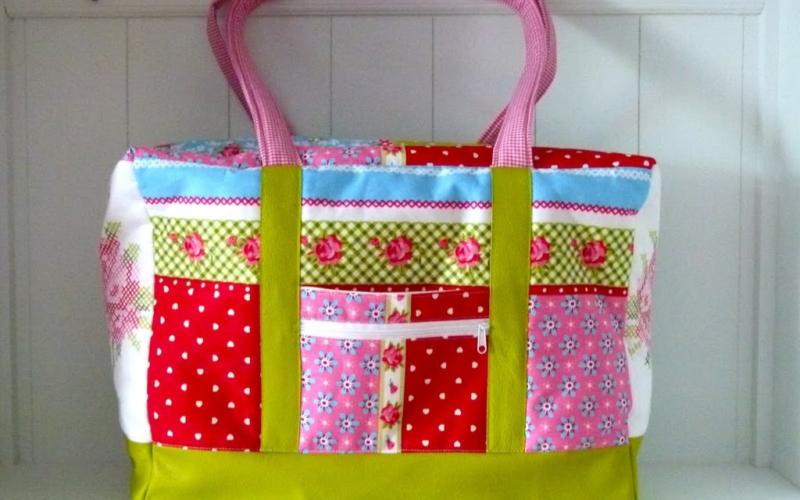 Große Tasche für den Einkaufsbummel, Picknick, Strand und und und