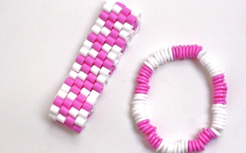 Bügelperlenarmbänder… in schön ;)