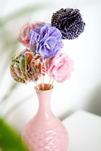Stoffblumen