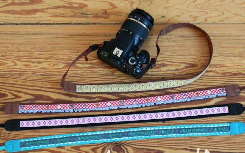 DIY Kameraband – Mit einer normalen Haushaltsnähmaschine