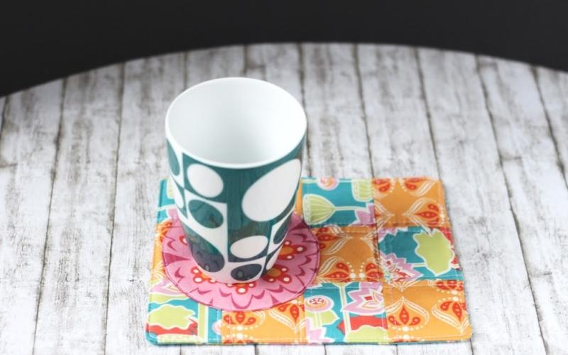Mug Rugs – Schnelle Geschenkidee