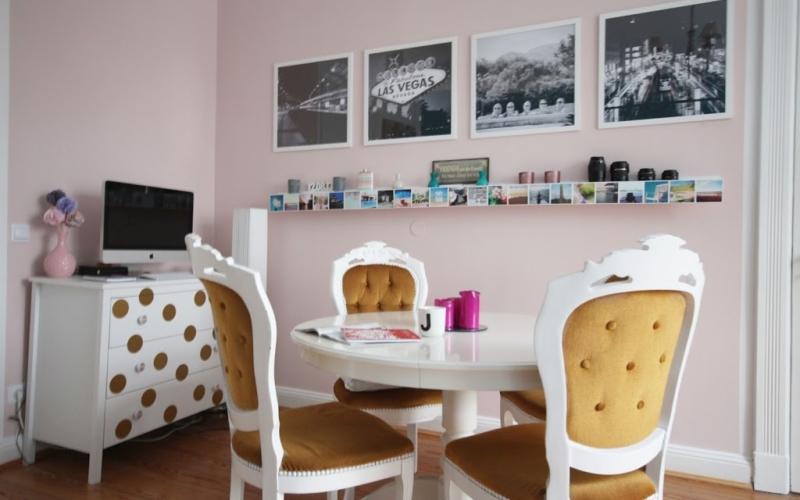Makeover meines Wohnzimmers – Die Essecke