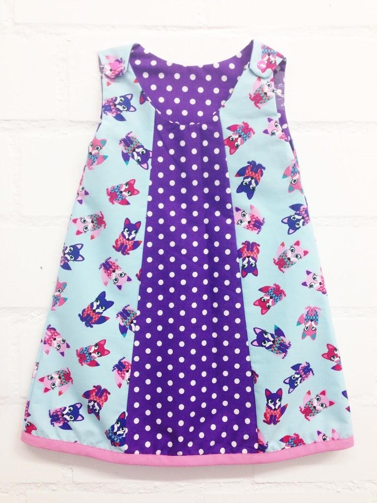 Kleid schnittmuster kostenlos madchen