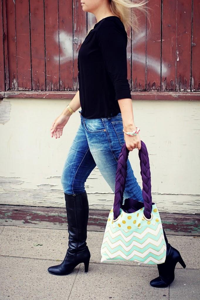 selbst gemacht jeans handtaschen