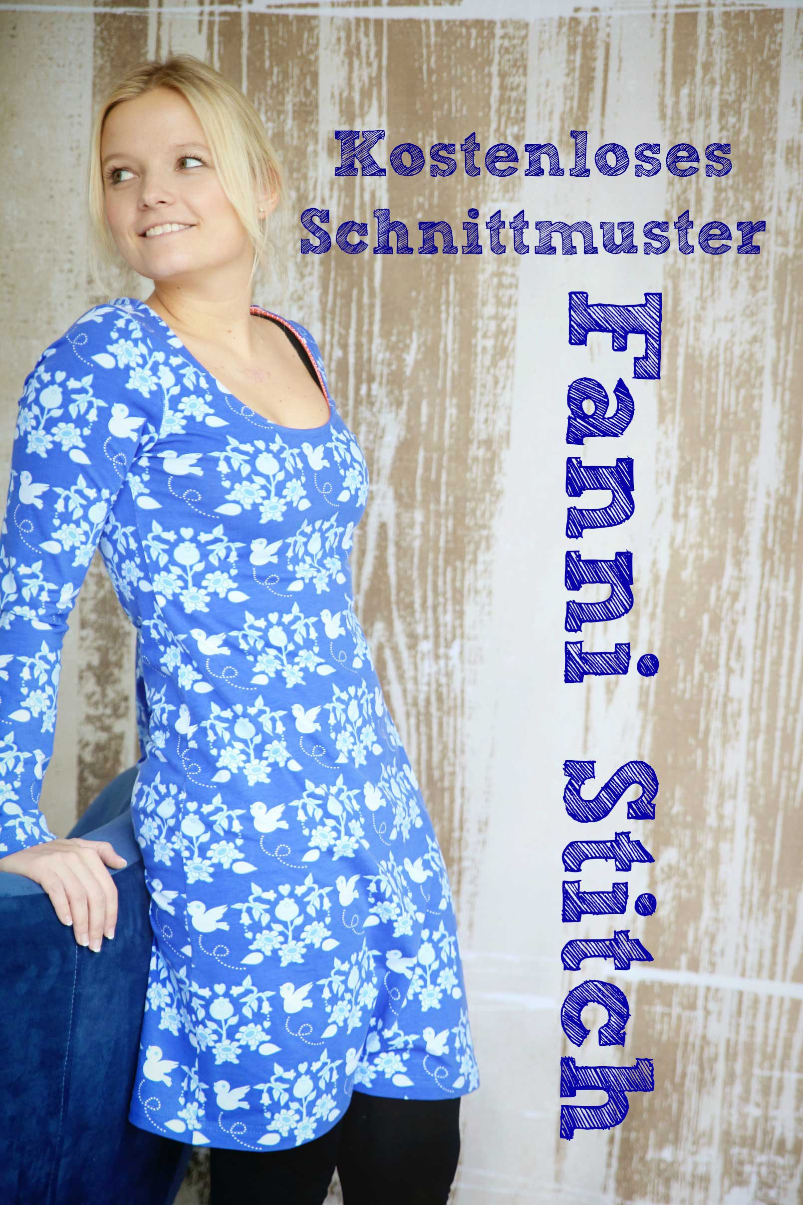 Freebook festliches kleid damen