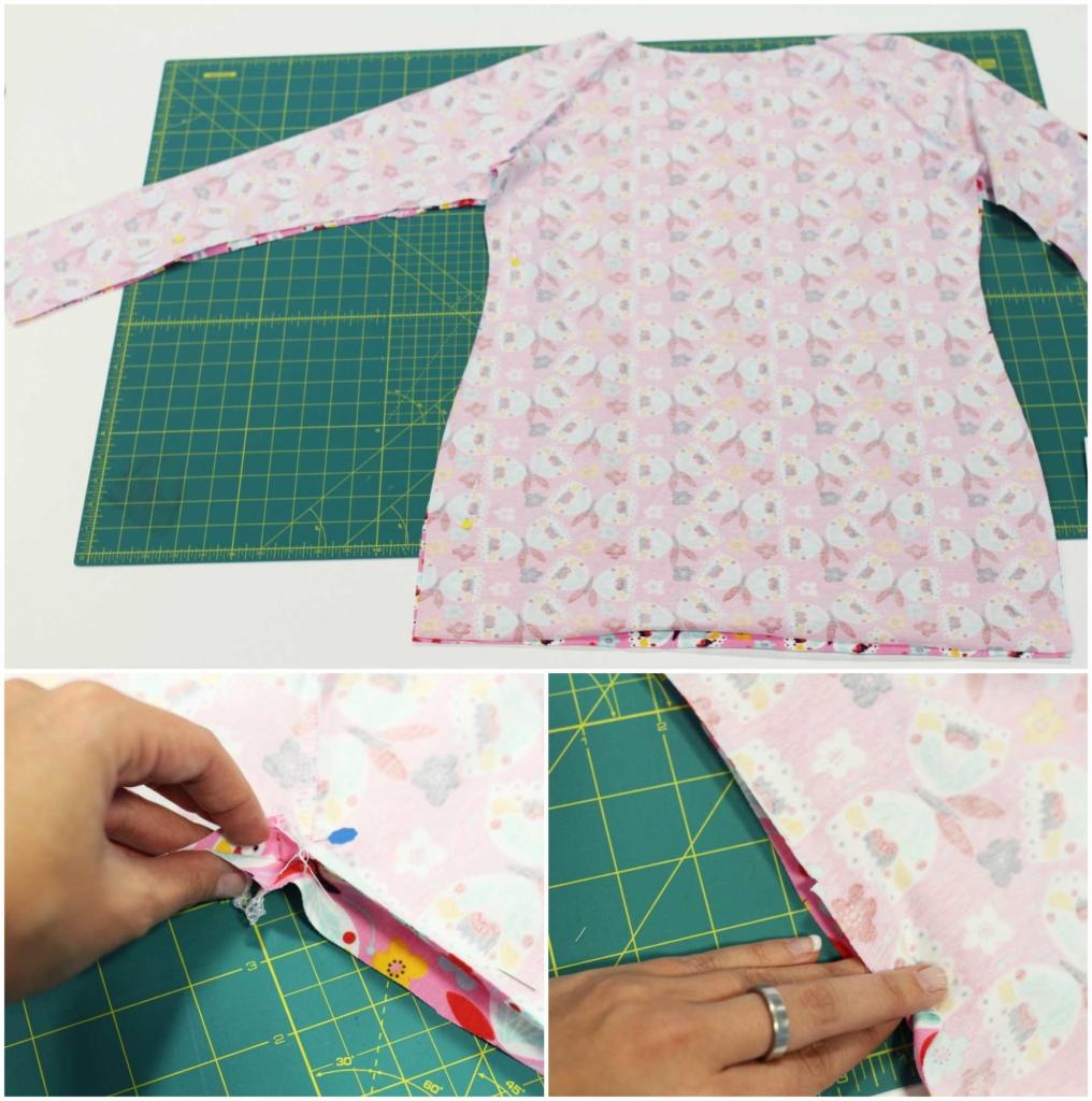 Schnittmuster kleid langarm kostenlos – Stylischer Kleider