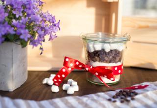 Geschenkidee – Kuchen im Glas