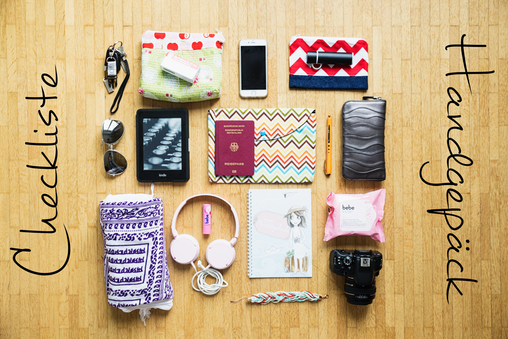 Checkliste-Handgepäck