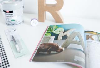 DIY mit Beton – aus dem Brigitte KREATIV Heft