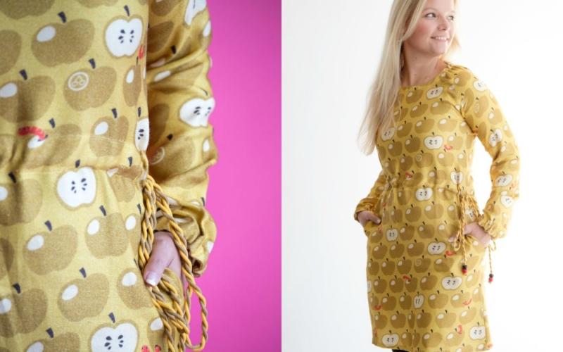 Online – das neue Schnittmuster Kleid MARSEILLE