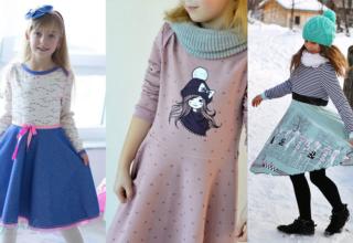 Schnittmuster Winterhude für Mädchen und für Frauen