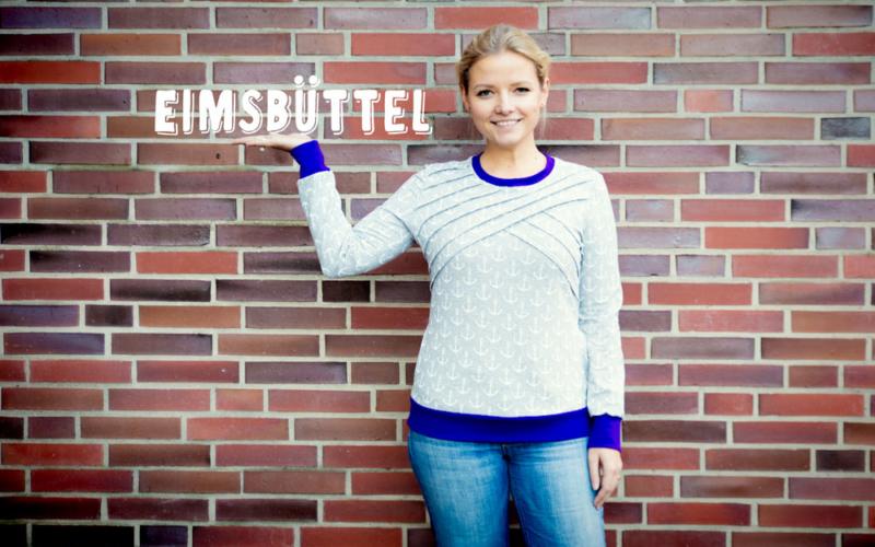 Neues Schnittmuster: Lässiges Oberteil Eimsbüttel mit Biesen