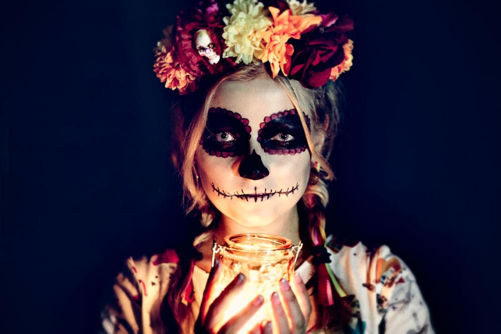 Diy Halloween Kostum Selbstgenaht Und Passende Schminktipps Dazu