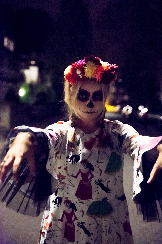 DIY: Halloween Kostüm selbstgenäht und passende Schminktipps dazu ...