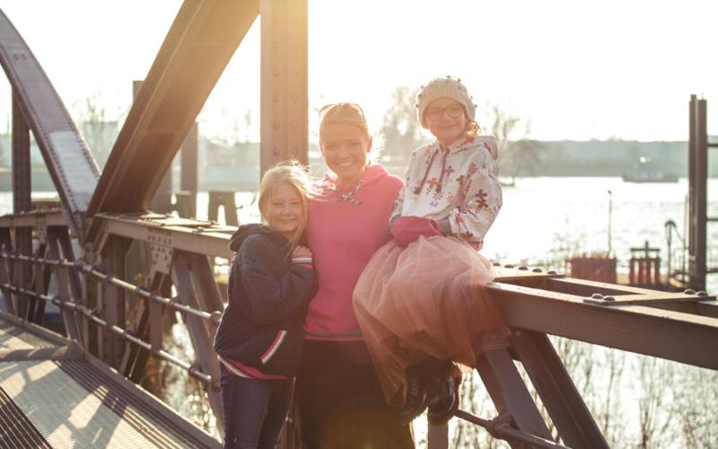 Unser neuer Kuschelhoodie – Schnittmuster Oslo für die ganze Familie