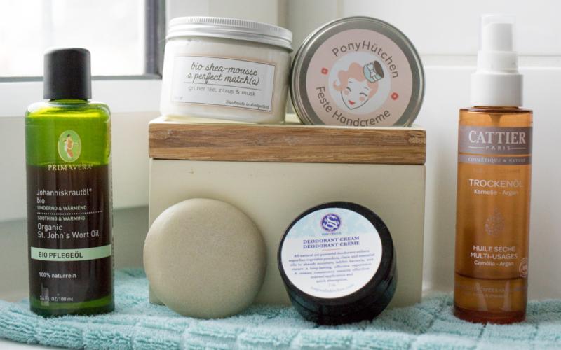 Nachhaltigkeit im Bad – ein Blick in meinen Badezimmerschrank