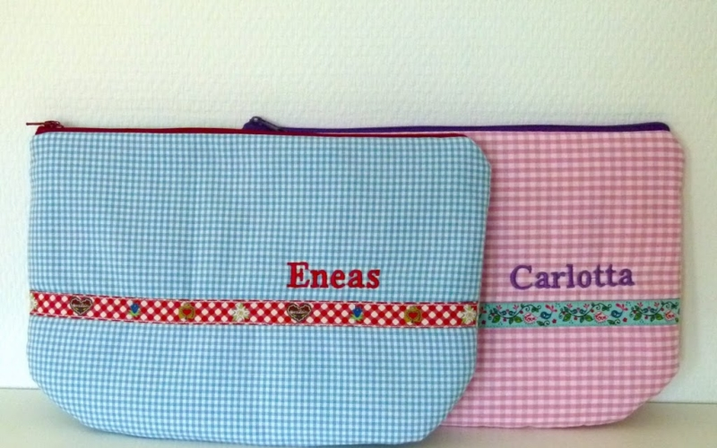 Personalisierte Wickeltaschen