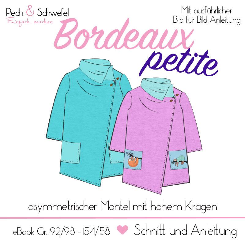 E-Book Kindermantel Petite Bordeaux