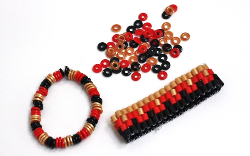 Bügelperlen – Armbänder