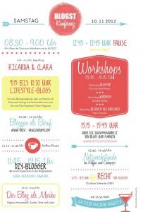 Blogst Konferenz Stundenplan