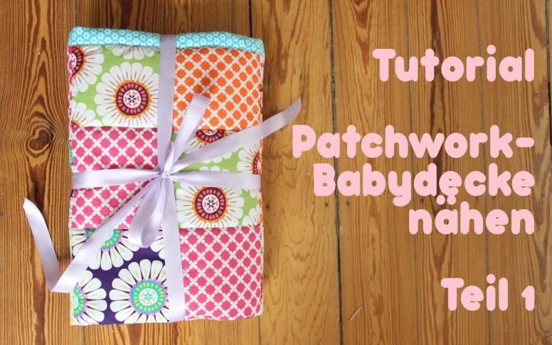 Anleitung Patchworkdecke nähen Teil 1- Vom Stoff bis zum Muster