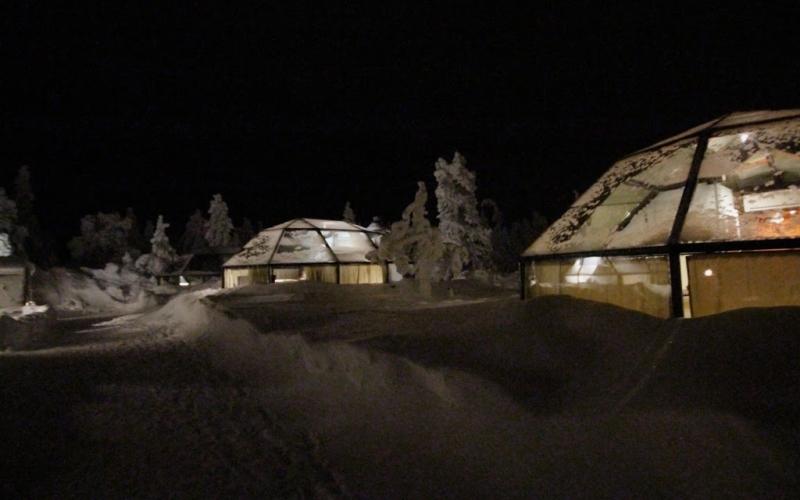 Lappland 2014 – Unglaubliche Unterkünfte
