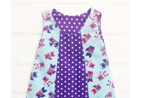 Selbermacher-Kleidchen – kostenlose Anleitung wie man ein Kleid nähen kann