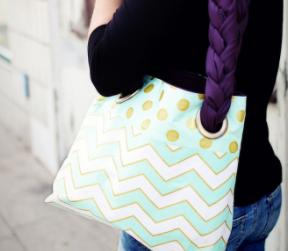Tutorial: Wie man eine Tasche inkl. Ösen näht