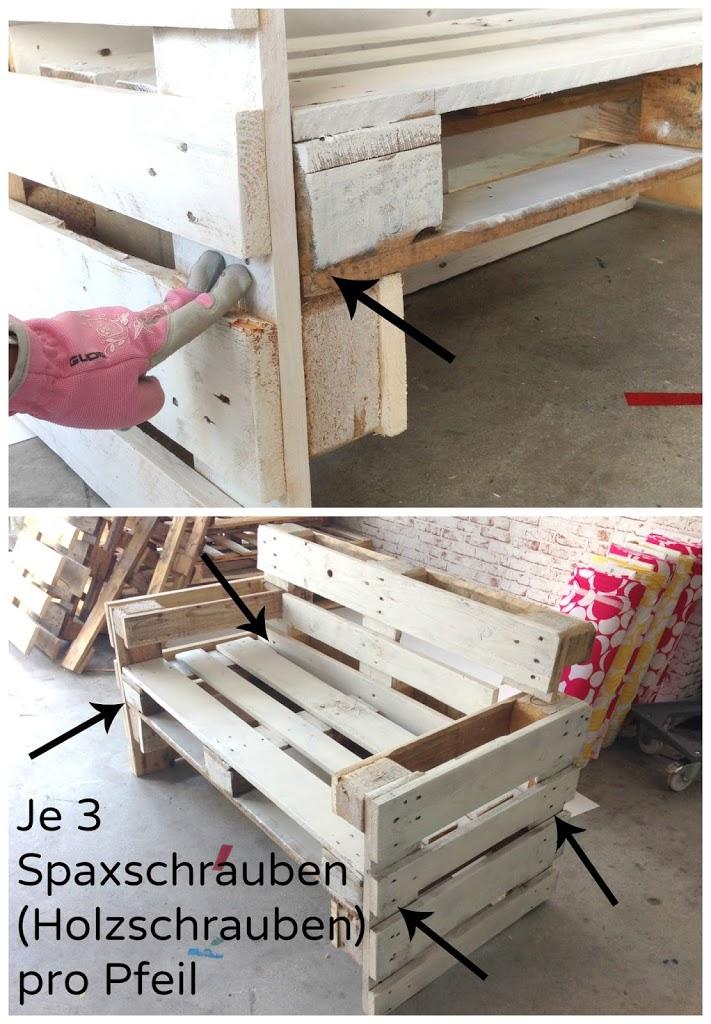 Hervorragend Möbel aus Paletten bauen - Anleitung JI81