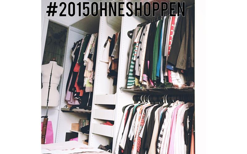 2015 ohne Shopping von Kleidung