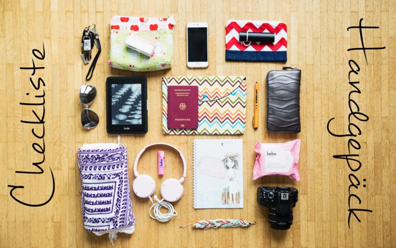 Checkliste fürs Handgepäck