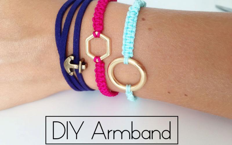 DIY Macramé Armband