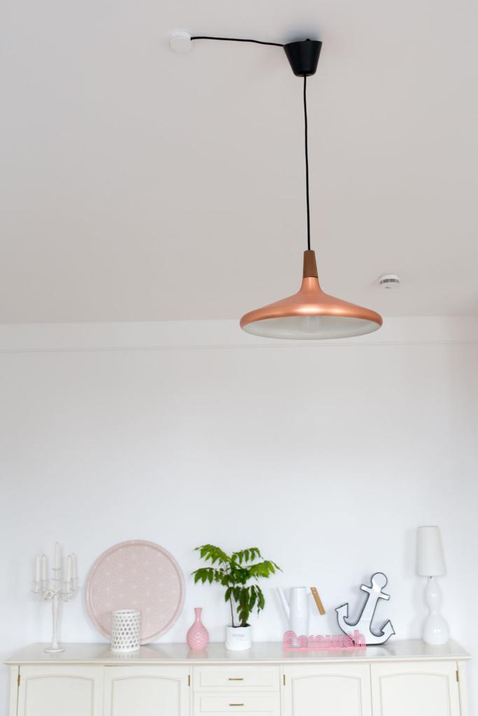 Messing Lampe
