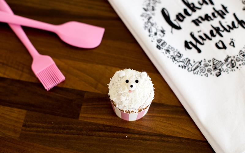 Muffins im Eisbärenlook