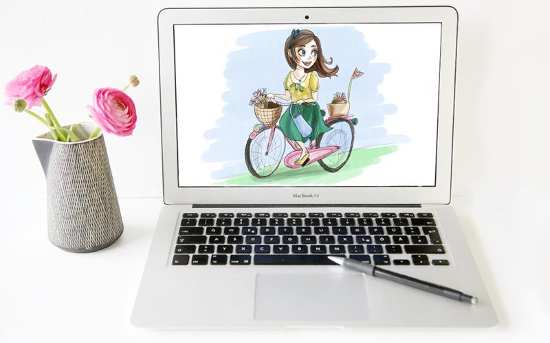 Gastbeitrag: Mein Feenstaub zeigt euch wie eine Zeichnung für Packendes entsteht