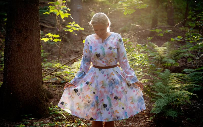 Das Kleid Laboe aus Jersey