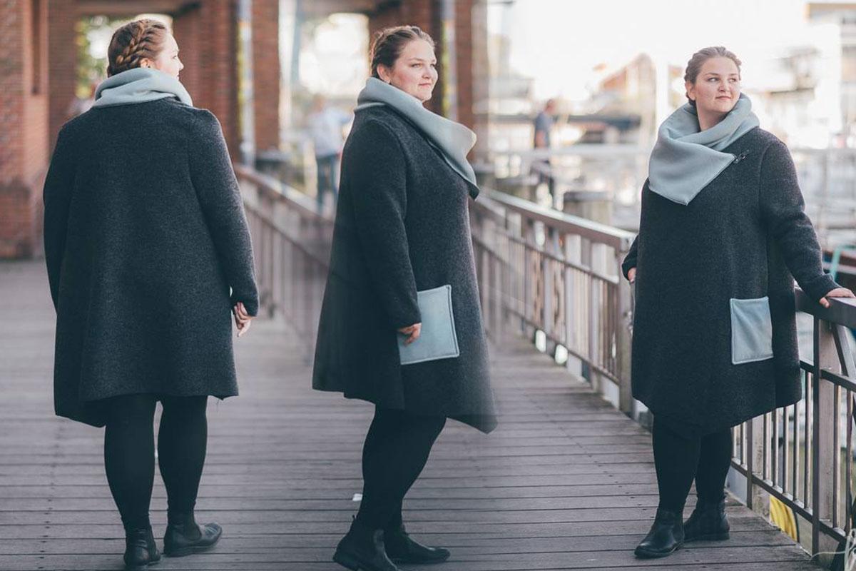 Damen mantel gr 52