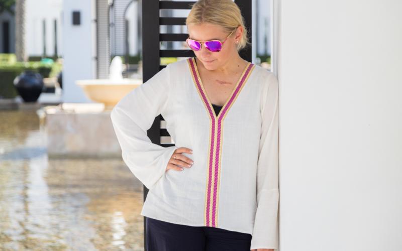 Neues Schnittmuster – jetzt schon mein Lieblingsteil in diesem Jahr, die Tunika Capri