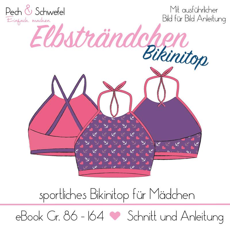 Ebook Elbsträndchen Bikinitop zum selber nähen