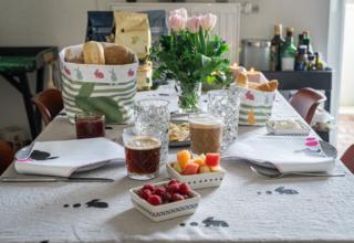 Kreative Osterideen im Siebdruckverfahren mit Kaffee von Tchibo und eine DIY Anleitung für Osterkörbchen