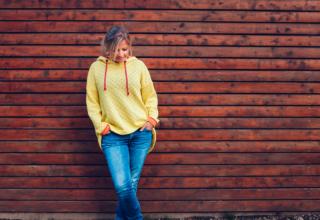 Schnittmuster Bergen: Ein lässiger Pullover, perfekt für Anfänger