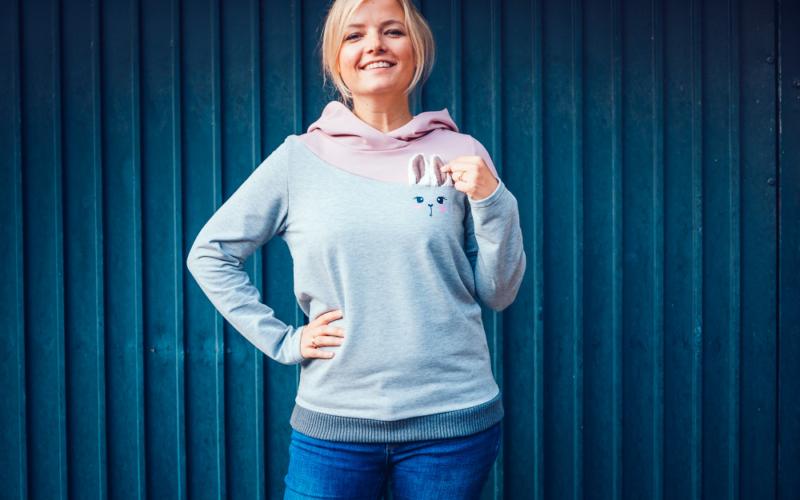 Unser neuer Pullover Lima – für Damen und Kinder mit einem super süßen Extra